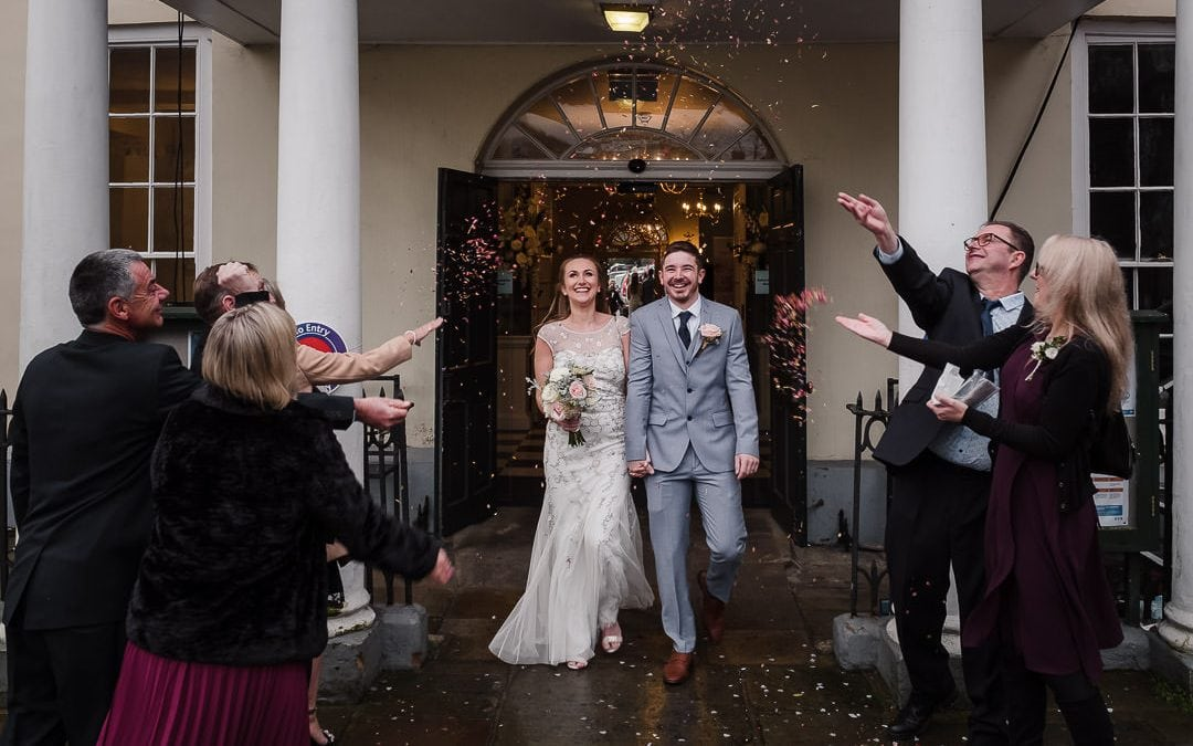 Kate+Chris COVID secure wedding